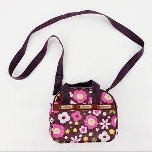 NEW LeSportSac Floral Mini Crossbody Bag Purse